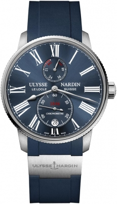 Buy this new Ulysse Nardin Marine Chronometer Torpilleur 42mm 1183-310-3/43 mens watch for the discount price of £5,015.00. UK Retailer.
