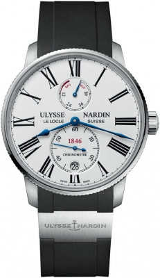 Buy this new Ulysse Nardin Marine Chronometer Torpilleur 42mm 1183-310-3/40 mens watch for the discount price of £5,015.00. UK Retailer.