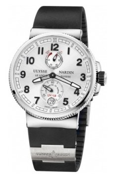 Ulysse Nardin Marine Chronometer Manufacture 43mm Mens watch, model number - 1183-126-3/61, discount price of £6,481.00 from The Watch Source