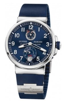 Ulysse Nardin Marine Chronometer Manufacture 43mm Mens watch, model number - 1183-126-3/63, discount price of £6,481.00 from The Watch Source