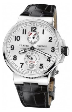Ulysse Nardin Marine Chronometer Manufacture 43mm Mens watch, model number - 1183-126/61, discount price of £6,310.00 from The Watch Source
