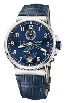 Ulysse Nardin Marine Chronometer Manufacture 43mm Mens watch, model number - 1183-126/63, discount price of £6,310.00 from The Watch Source