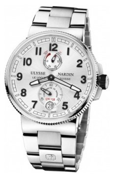 Ulysse Nardin Marine Chronometer Manufacture 43mm Mens watch, model number - 1183-126-7m/61, discount price of £7,114.00 from The Watch Source