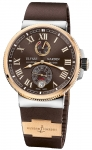 Ulysse Nardin Marine Chronometer Manufacture 43mm 1185-126-3/45 watch