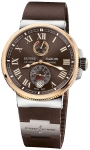 Ulysse Nardin Marine Chronometer Manufacture 43mm 1185-126-3t/45 watch