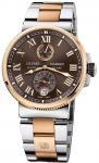 Ulysse Nardin Marine Chronometer Manufacture 43mm 1185-126-8m/45 watch