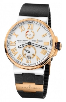 Ulysse Nardin Marine Chronometer Manufacture 45mm Mens watch, model number - 1185-122-3/41, discount price of £12,712.00 from The Watch Source