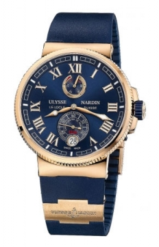 Ulysse Nardin Marine Chronometer Manufacture 43mm Mens watch, model number - 1186-126-3/43, discount price of £20,021.00 from The Watch Source