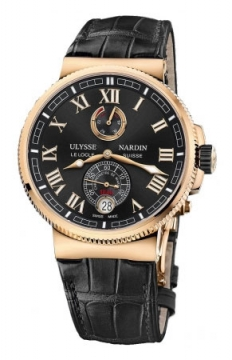 Ulysse Nardin Marine Chronometer Manufacture 43mm Mens watch, model number - 1186-126/42, discount price of £18,759.00 from The Watch Source