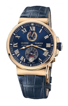Ulysse Nardin Marine Chronometer Manufacture 43mm Mens watch, model number - 1186-126/43, discount price of £18,759.00 from The Watch Source