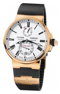 Ulysse Nardin Marine Chronometer Manufacture 45mm Mens watch, model number - 1186-122-3/40, discount price of £24,429.00 from The Watch Source