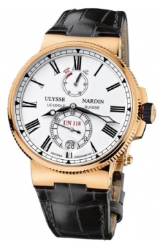 Ulysse Nardin Marine Chronometer Manufacture 45mm Mens watch, model number - 1186-122/40, discount price of £23,162.00 from The Watch Source