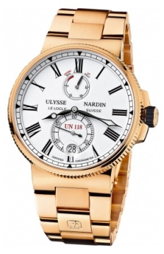 Ulysse Nardin Marine Chronometer Manufacture 45mm Mens watch, model number - 1186-122-8m/40, discount price of £34,935.00 from The Watch Source