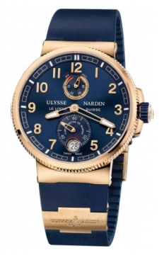 Ulysse Nardin Marine Chronometer Manufacture 43mm Mens watch, model number - 1186-126-3/63, discount price of £20,017.00 from The Watch Source