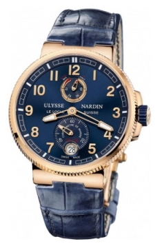 Ulysse Nardin Marine Chronometer Manufacture 43mm Mens watch, model number - 1186-126/63, discount price of £18,700.00 from The Watch Source