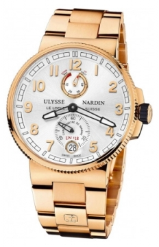 Ulysse Nardin Marine Chronometer Manufacture 43mm Mens watch, model number - 1186-126-8m/61, discount price of £31,662.00 from The Watch Source
