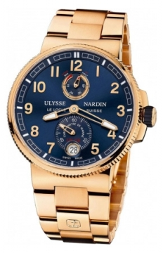 Ulysse Nardin Marine Chronometer Manufacture 43mm Mens watch, model number - 1186-126-8m/63, discount price of £31,662.00 from The Watch Source