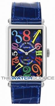 Franck Muller Long Island Crazy Hours Automatic 1200 CH CODR WG Blue  watch
