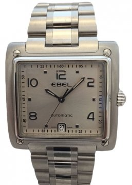 Ebel 1911 La Carree Mens watch, model number - 1214000, 9120i40/16567, discount price of £1,195.00 from The Watch Source