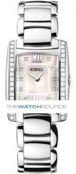 Buy this new Ebel Brasilia Mini 1215607 ladies watch for the discount price of £2,960.00. UK Retailer.