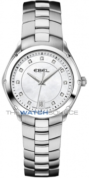 Buy this new Ebel Ebel Sport Quartz 27mm 1215982 ladies watch for the discount price of £1,500.00. UK Retailer.
