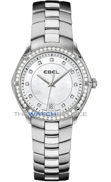 Buy this new Ebel Ebel Sport Quartz 27mm 1215983 ladies watch for the discount price of £1,650.00. UK Retailer.