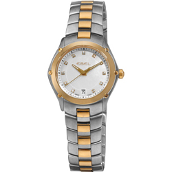 Buy this new Ebel Ebel Sport Quartz 27mm 1216029 ladies watch for the discount price of £2,040.00. UK Retailer.