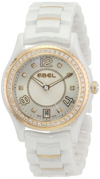 Ebel Ebel X-1 Quartz 34mm Ladies watch, model number - 1216116, discount price of £4,350.00 from The Watch Source