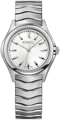 Buy this new Ebel Ebel Wave Quartz 30mm 1216191 ladies watch for the discount price of £795.00. UK Retailer.