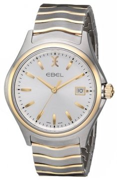Ebel Ebel Wave Quartz 40mm Mens watch, model number - 1216202, discount price of £1,115.00 from The Watch Source