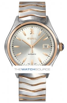 Buy this new Ebel Ebel Wave Automatic 40mm 1216204 mens watch for the discount price of £1,610.00. UK Retailer.