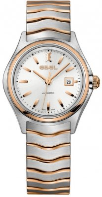 Buy this new Ebel Ebel Wave Automatic 30mm 1216236 ladies watch for the discount price of £1,440.00. UK Retailer.
