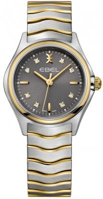 Buy this new Ebel Ebel Wave Quartz 30mm 1216283 ladies watch for the discount price of £1,275.00. UK Retailer.
