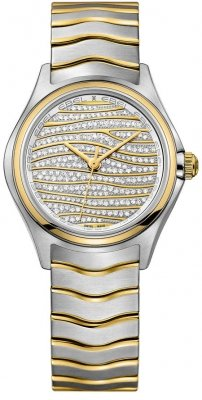 Buy this new Ebel Ebel Wave Quartz 30mm 1216284 ladies watch for the discount price of £3,740.00. UK Retailer.