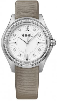 Buy this new Ebel Ebel Wave Quartz 35mm 1216297 ladies watch for the discount price of £2,358.00. UK Retailer.