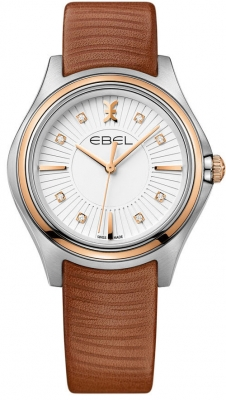 Buy this new Ebel Ebel Wave Quartz 35mm 1216299 ladies watch for the discount price of £1,547.00. UK Retailer.