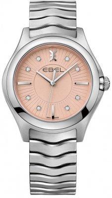 Buy this new Ebel Ebel Wave Quartz 35mm 1216303 ladies watch for the discount price of £1,355.00. UK Retailer.