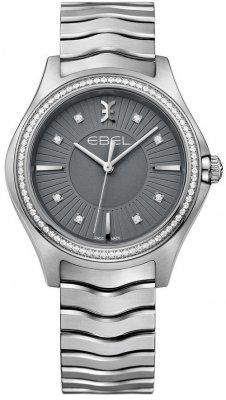 Buy this new Ebel Ebel Wave Quartz 35mm 1216304 ladies watch for the discount price of £2,422.00. UK Retailer.