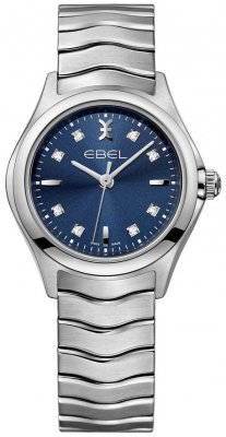Buy this new Ebel Ebel Wave Quartz 30mm 1216315 ladies watch for the discount price of £1,100.00. UK Retailer.