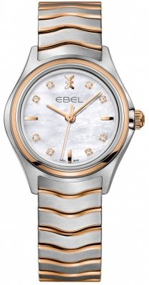 Buy this new Ebel Ebel Wave Quartz 30mm 1216318 ladies watch for the discount price of £1,355.00. UK Retailer.