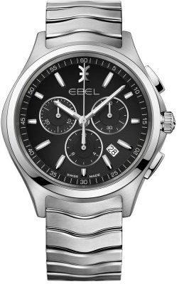 Buy this new Ebel Ebel Wave Chronograph 42mm 1216342 mens watch for the discount price of £1,270.00. UK Retailer.