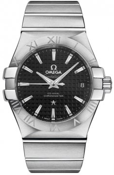Omega Constellation Co-Axial Automatic 35mm Mens watch, model number - 123.10.35.20.01.002, discount price of £2,477.00 from The Watch Source