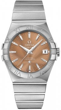 Buy this new Omega Constellation Co-Axial Automatic 35mm 123.10.35.20.10.001 mens watch for the discount price of £2,628.00. UK Retailer.