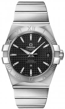 Omega Constellation Co-Axial Automatic 38mm Mens watch, model number - 123.10.38.21.01.002, discount price of £3,230.00 from The Watch Source