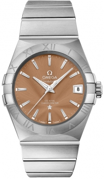 Buy this new Omega Constellation Co-Axial Automatic 38mm 123.10.38.21.10.001 mens watch for the discount price of £3,600.00. UK Retailer.