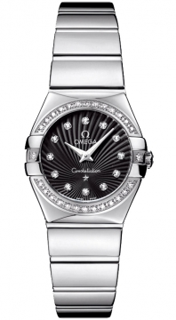Buy this new Omega Constellation Polished 24mm 123.15.24.60.51.002 ladies watch for the discount price of £3,492.00. UK Retailer.