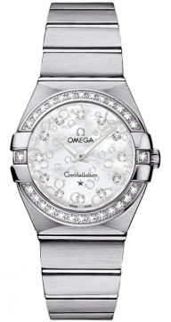 Omega Constellation Brushed 27mm 123.15.27.60.55.005 watch