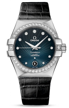 Omega Constellation Co-Axial Automatic 35mm Ladies watch, model number - 123.18.35.20.56.001, discount price of £5,445.00 from The Watch Source