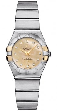 Buy this new Omega Constellation Brushed 24mm 123.20.24.60.57.002 ladies watch for the discount price of £2,376.00. UK Retailer.