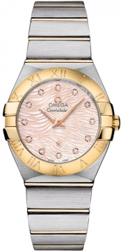 Buy this new Omega Constellation Brushed 27mm 123.20.27.60.57.005 ladies watch for the discount price of £3,933.00. UK Retailer.